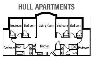 Hull Apartments Floor Plan
