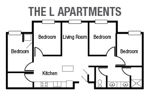 L Apartments Floor Plan