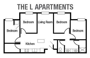 L Apartments Floor Plan