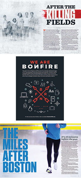 Bonfire Design Spreads